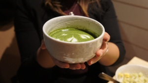 Matcha latte @sweettoothinsydney